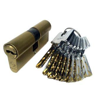 Мех. цилиндр Hiluke PB (35х35) (золото)