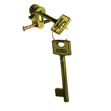 Цилиндр MSM для межкомн. дверей AB (бронза)