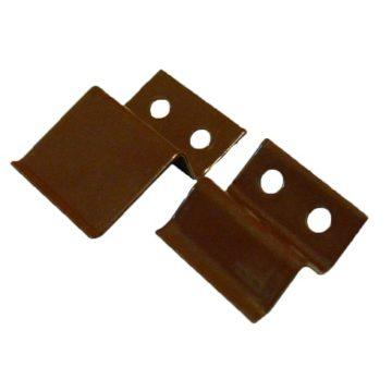 """Крепление для москитной сетки """"верх-низ"""" металл (коричневый)"""