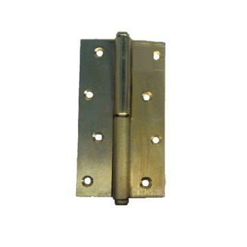Петля разъемная анодир. 85х65 мм. (левая)