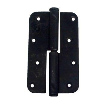 Петля разъемная (черная) 110х65 мм. L