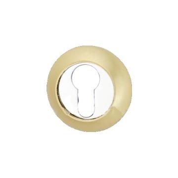 Накладка под ключ R1 SB/CP (мат. золото/хром)