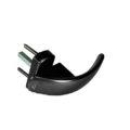 Ручка оконная для пластика Roto Swing Secustik 7/37 (черный)