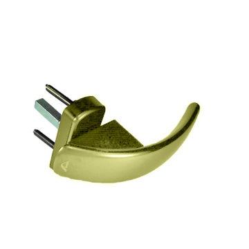 Ручка оконная для пластика Roto Swing Secustik 7/37 (золото)