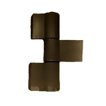 Петля дверная CTH-0611-10 (8017) (коричневая)