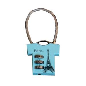 """Замок навесной """"Paris"""" трос кодовый"""