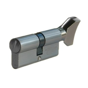 Мех. цилиндр сантехн. MSM W70 DAMX SN (сатин)