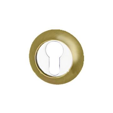 Накладка под ключ R1 PB/CP (золото/хром)
