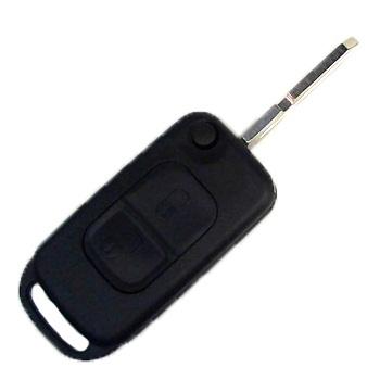 Корпус выкидного ключа для Mercedes CLS, 2 кнопки