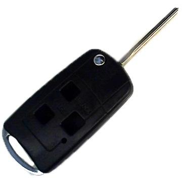 Корпус выкидного ключа для Lexus GS 300, RX 300, LS 400, 3 кнопки