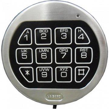 Наборная клавиатура 3710 к замку LaGard 3765 (хром)