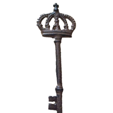 Ключ декоративный От королевства, подвесной 82-848