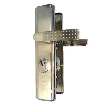 Ручки на планке для двери Форпост MSM KT3 SN (универсальные)
