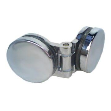 Петля стекло-стекло 180` точка РС (R-108)