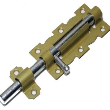 Задвижка НОЭЗ ЗД-110 (золотой металлик/цинк)