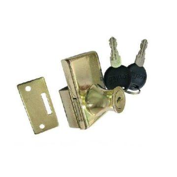 Замок мебельный Boyard Z258 2118 GP (золото)