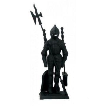 """Каминный набор Ragar """"Рыцарь"""" 80411 (черный)"""