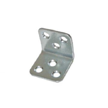 Уголок мебельный 30x30 (30x30x30x2) цинк белый