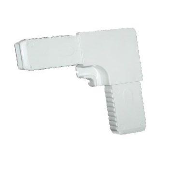 Уголок для москитной сетки 6213 CMW 1 ABS пластик