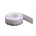 Защита на дверную щель силиконовая (белая)