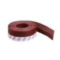 Защита на дверную щель силиконовая (коричневая)