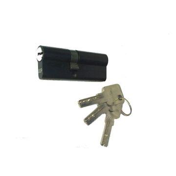 Мех. цилиндр Windoor Pro черный кл/кл лаз.кл (35х45)