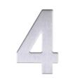 Цифра 4 (хром) (нерж.)