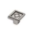 Ручка-кнопка (антик серебро)