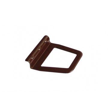 Ручка на москитную сетку (коричневая) металл